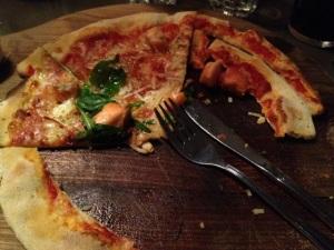 Pizza syöty 25.1.13