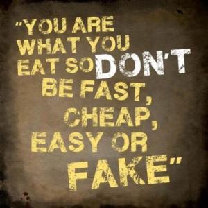 Olet mitä syöt