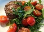 Pihvi-rucola-tomaatti