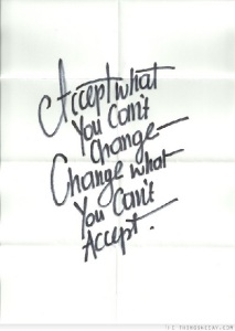 AcceptWhatYouCantChange