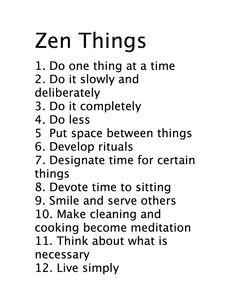 Zen lista